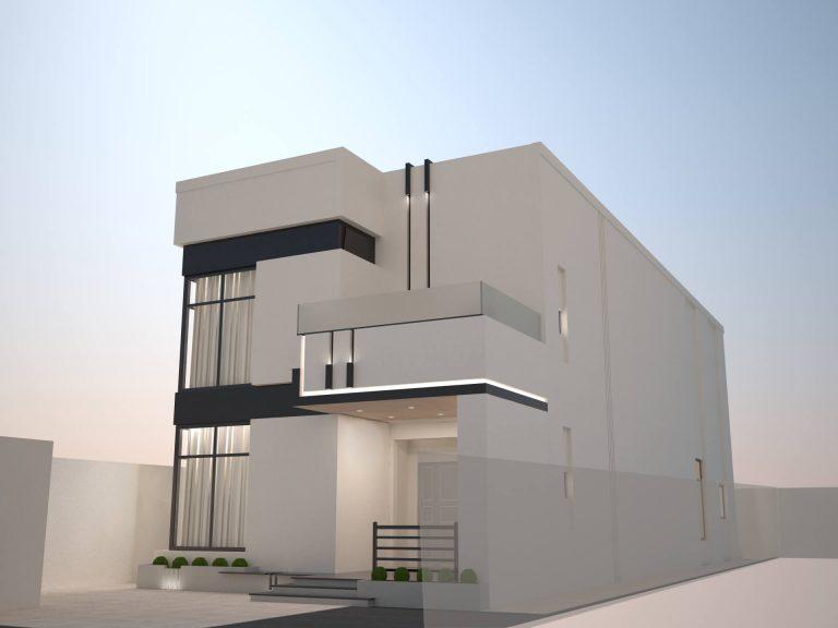 تصميم دوبلكس | Duplex Design in Al-Azizia