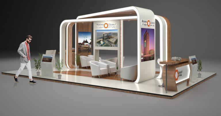 تصميم بوث | Nesma Company Booth Design