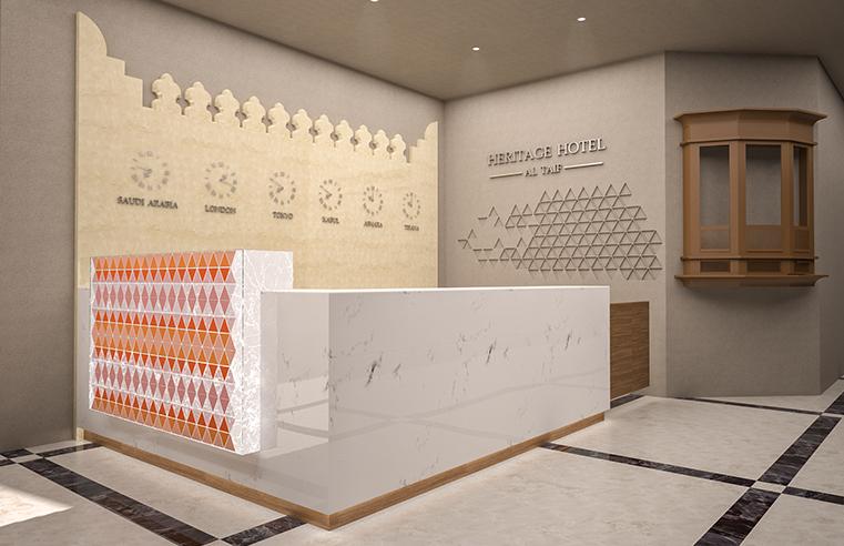 تصميم فندق | Hotel Interior and Elevation Design