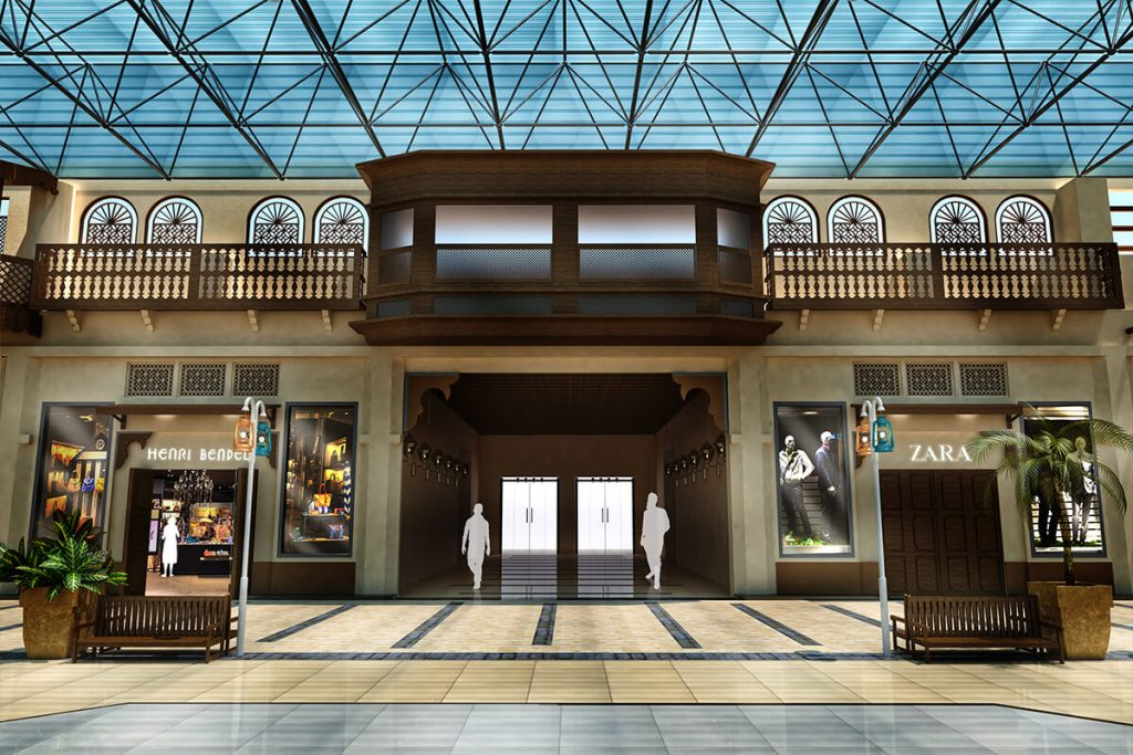 تصميم سوق | Souq Design in Al-Shubaily Mall